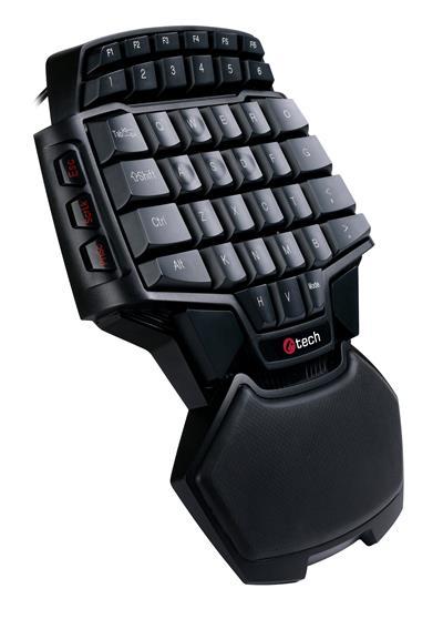 C-TECH Herní klávesnice Konabos , 46 kláves