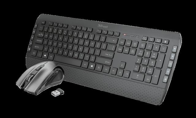 set TRUST Tecla-2 klávesnice + myš CZ/SK - 23416