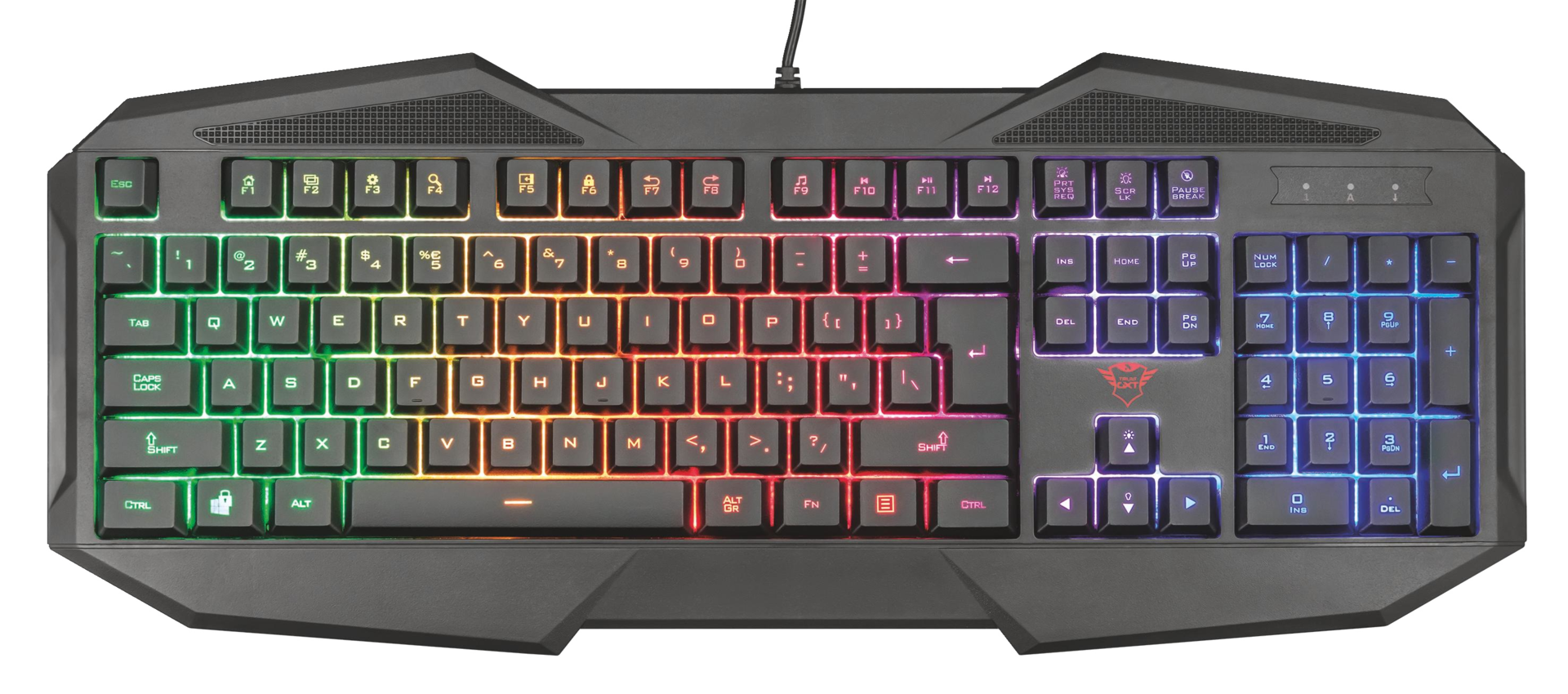 kláv. TRUST GXT 830-RW Avonn Gaming- HU - 22509