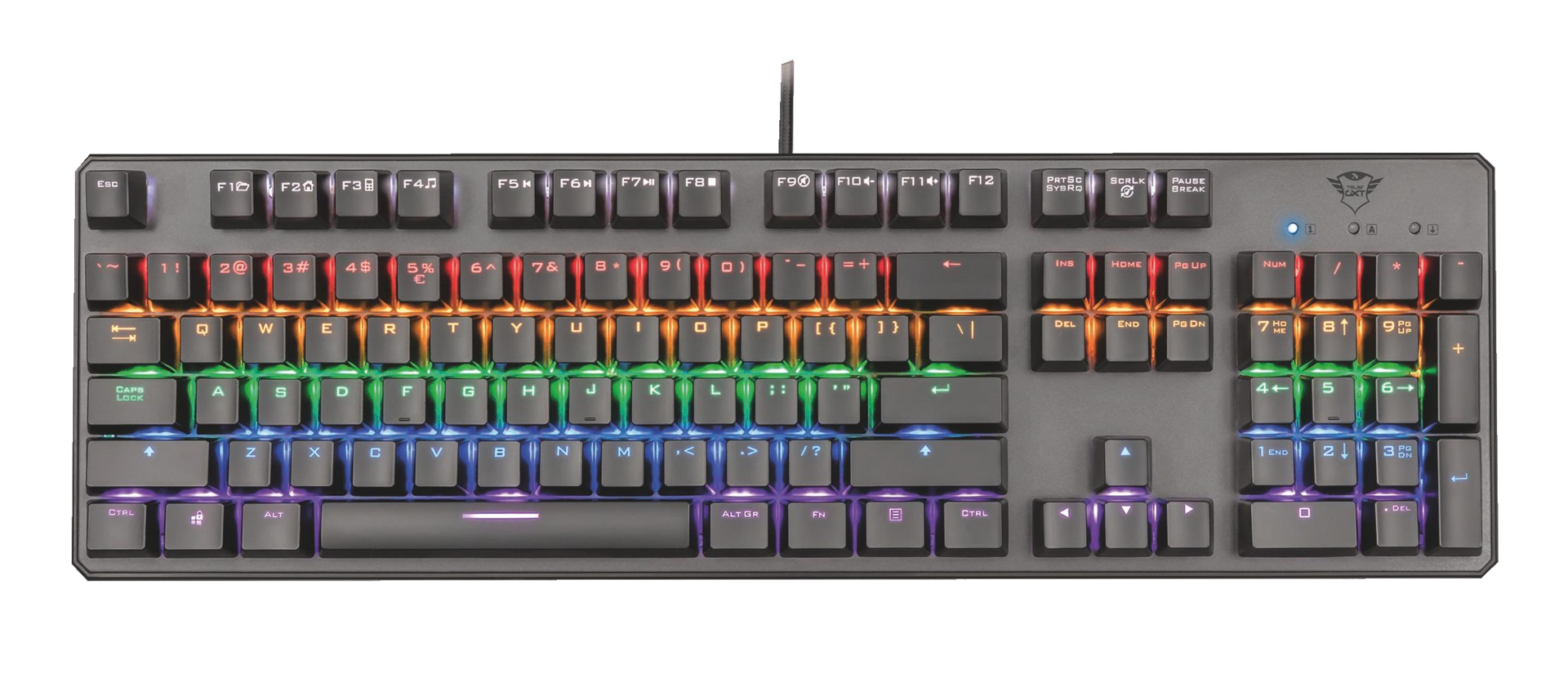 kláv. TRUST GXT 865 Asta Mechanical Keyboard - 22630