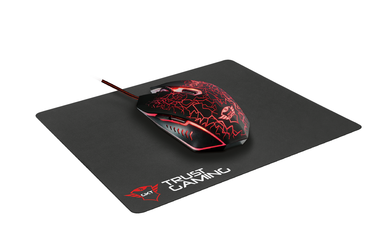 TRUST GXT 783 Gaming Mouse + Mouse Pad - 22736