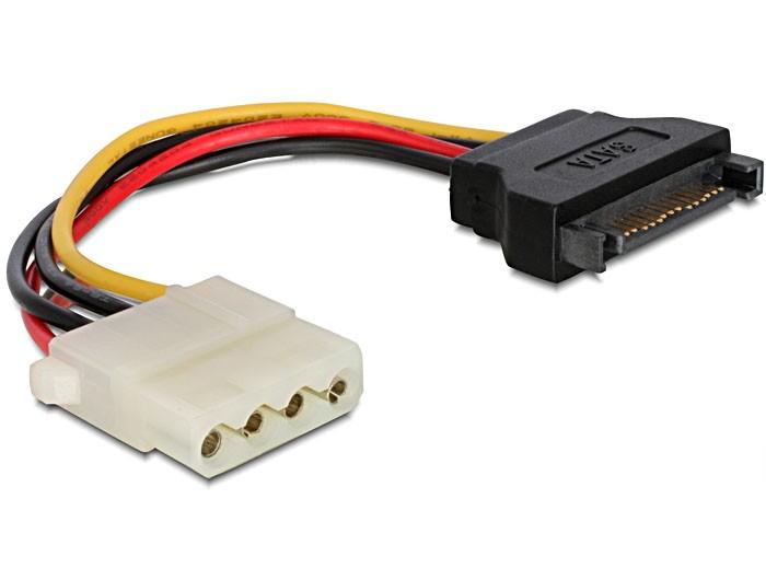 Kabel CABLEXPERT SATA M na Molex F - CC-SATA-PS-M