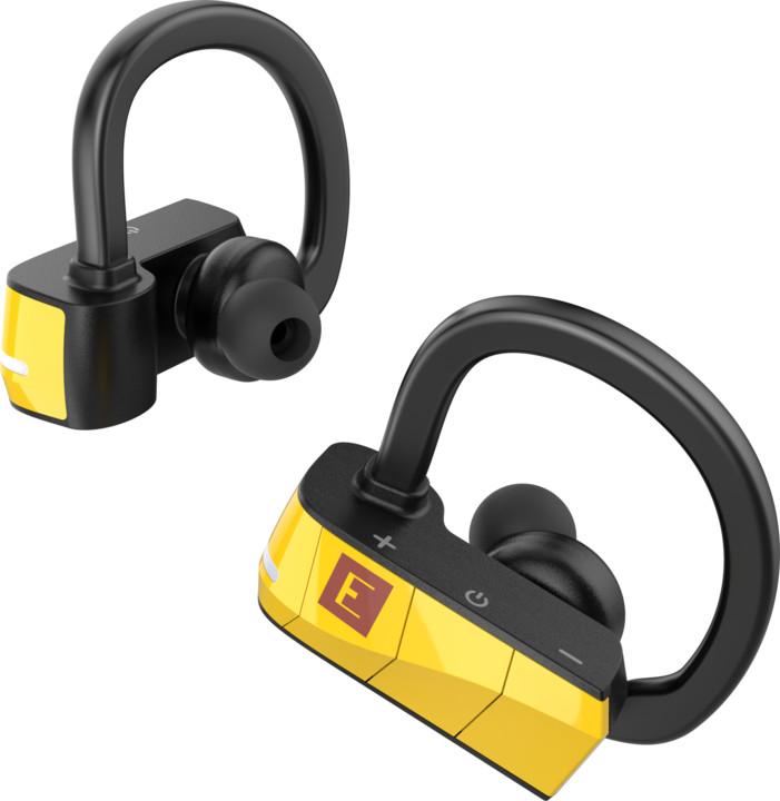 ERATO RIO 3 bezdrátová bluetooth sluchátka žlutá