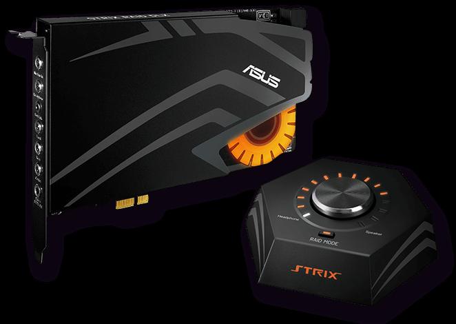 ASUS STRIX RAID DLX - 7.1 PCIe - 90YB00H0-M1UA00