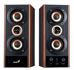 Speaker GENIUS SP-HF 800A 2.0 wood 20W