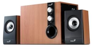 Speaker GENIUS SW-HF2.1 1205 32W maple wood