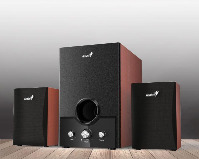 Speaker GENIUS SW-HF2.1 1700 II 45W wood - 31730013400