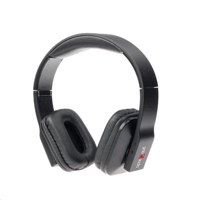 Gembird Sluchátka Oslo Bluetooth skládací, černá