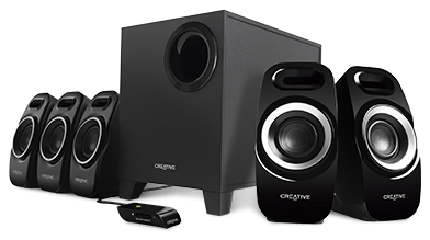 Speaker CREATIVE Inspire T6300 5.1