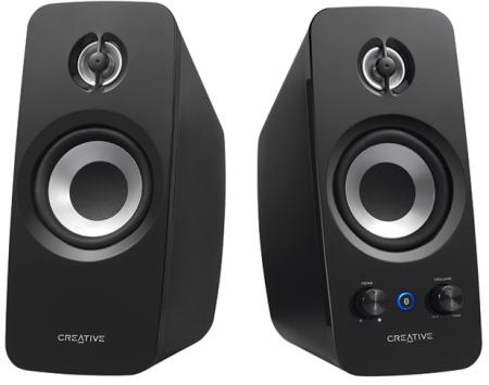 Speaker CREATIVE T15,2.0, Bluetooth 2.1,black - 51MF1670AA000