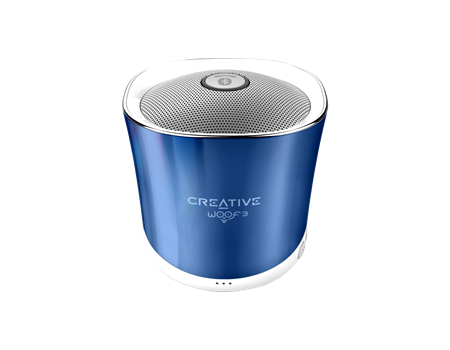 Speaker CREATIVE WOOF3, Bluetooth, blue