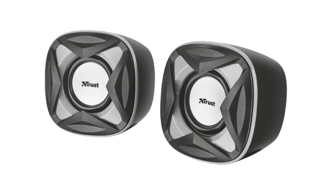 repro TRUST Xilo Compact 2.0 Speaker Set - black