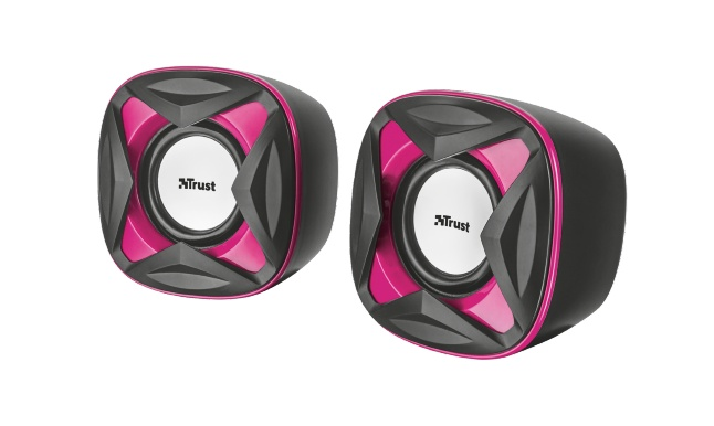 repro TRUST Xilo Compact 2.0 Speaker Set - pink