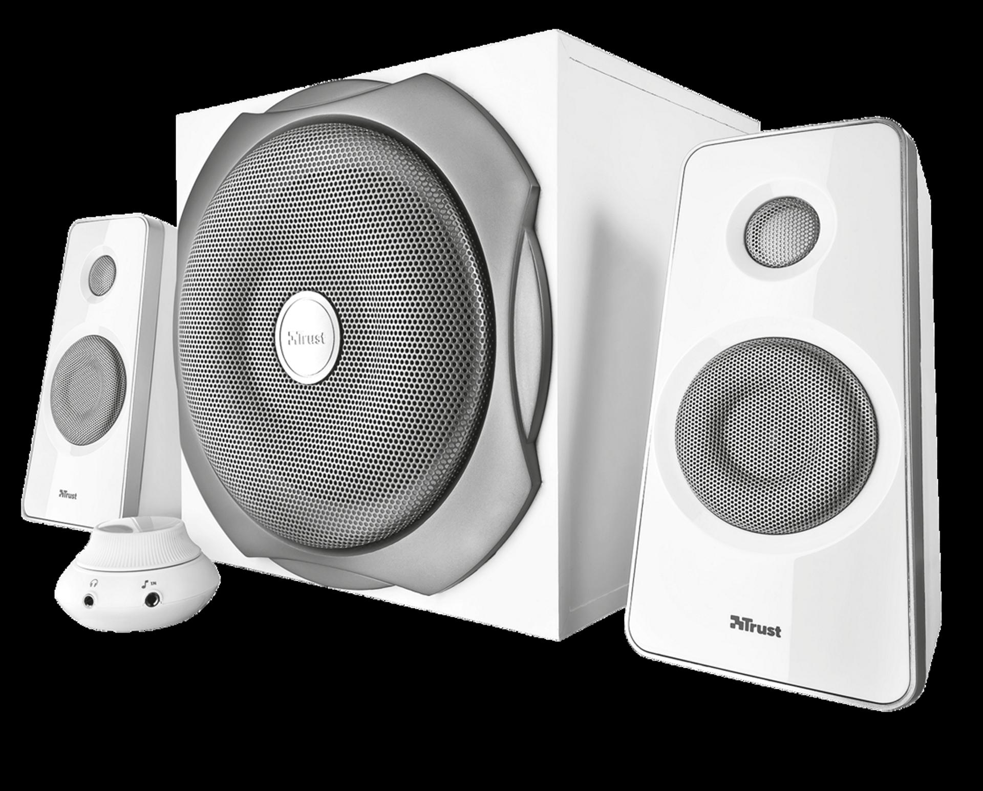 zvuk. systém TRUST Tytan 2.1 Speaker Set,white