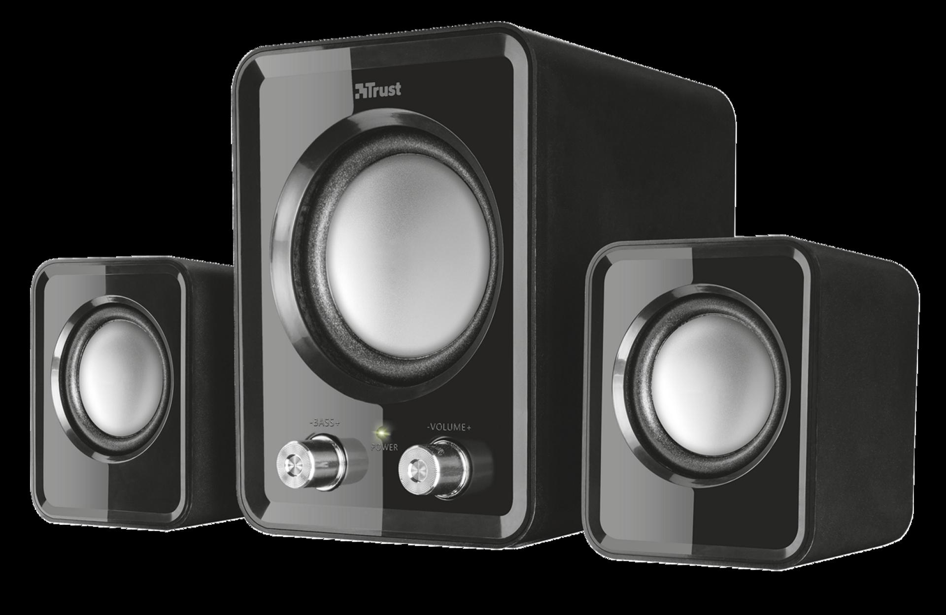 zvuk. systém TRUST Ziva 2.1 Compact Speaker Set - 21525