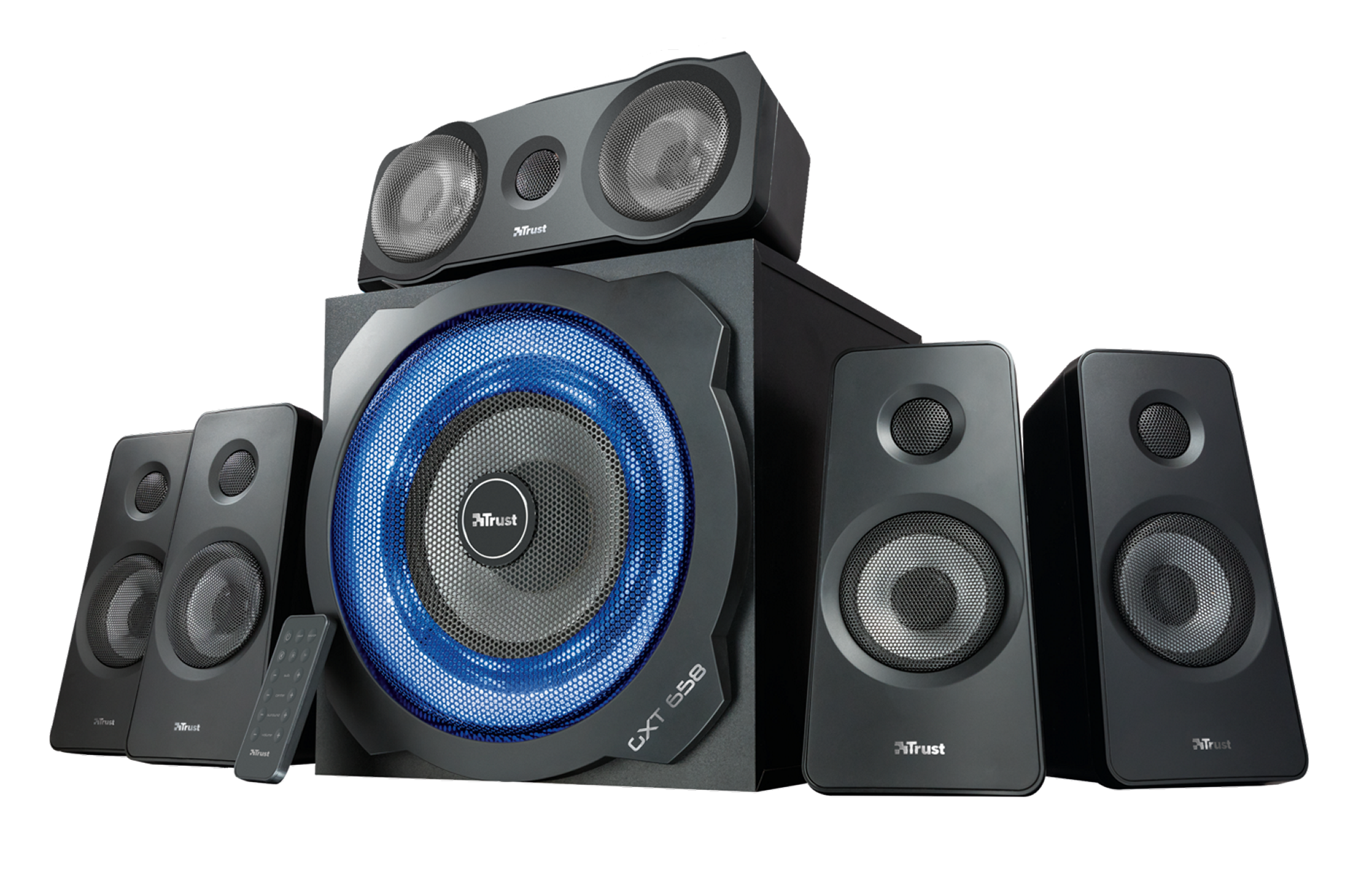 zvuk. systém TRUST GXT658 5.1 Speaker set - 21738