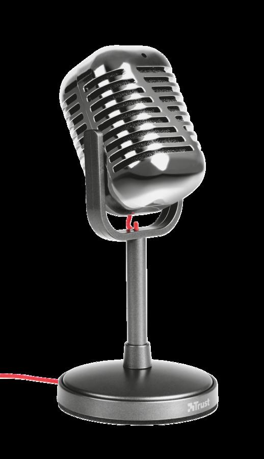 mikrofon TRUST Elvii Vintage Microphone - 21670