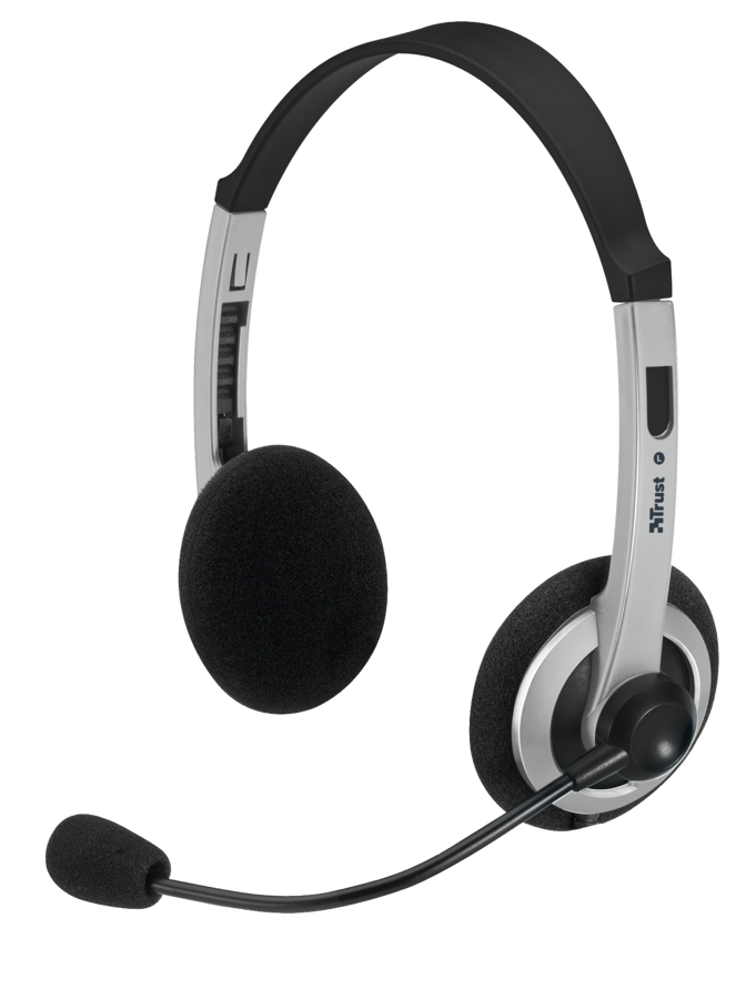 náhlavní sada TRUST Headset HS-2450 (ComfortFit)