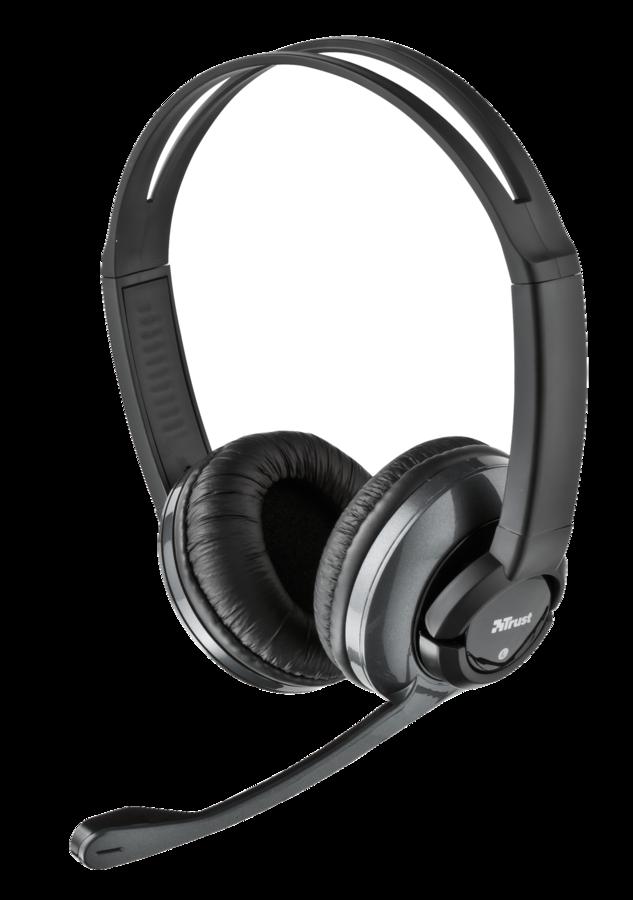 náhlavní sada TRUST Headset HS-2800