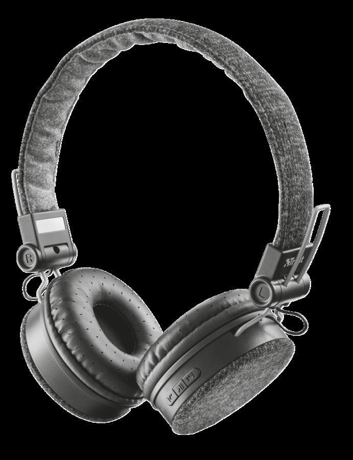 náhlavní sada TRUST Fyber Bluettooth Wireless Headphone