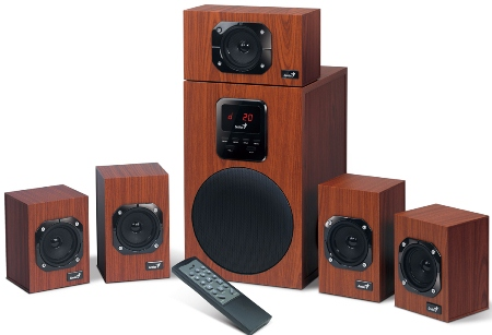 Speaker GENIUS SW-HF5.1 4800 125W
