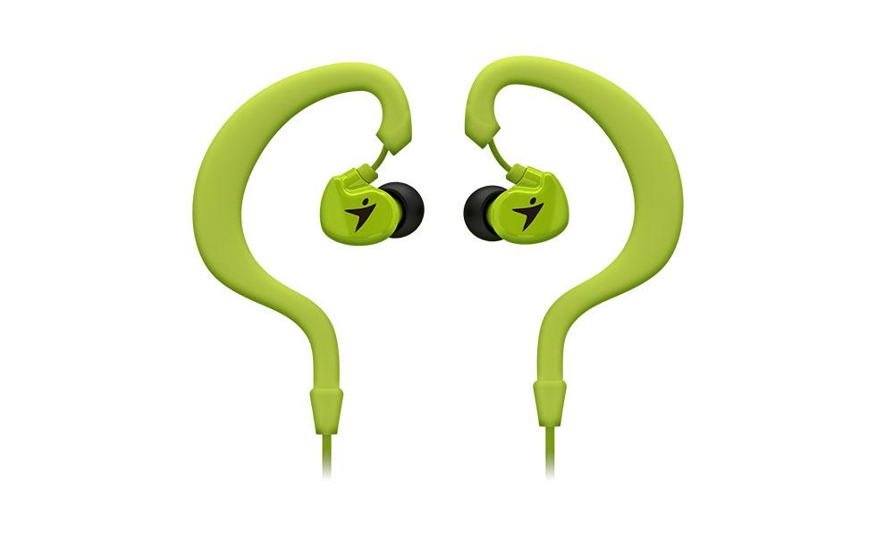Sluchátka Genius HS-M270 sport headset, green