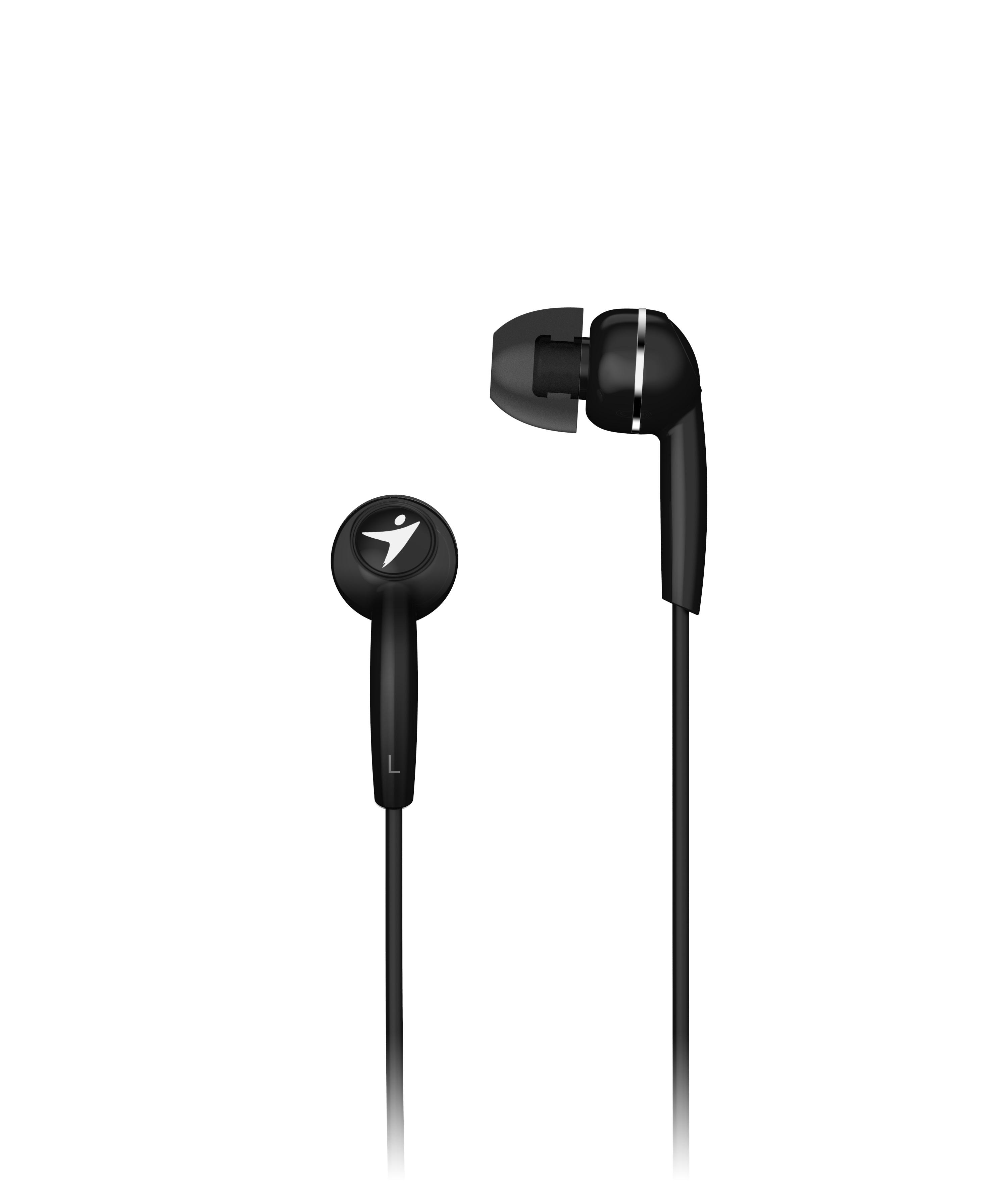 Sluchátka Genius HS-M320 mobile headset, black - 31710005412