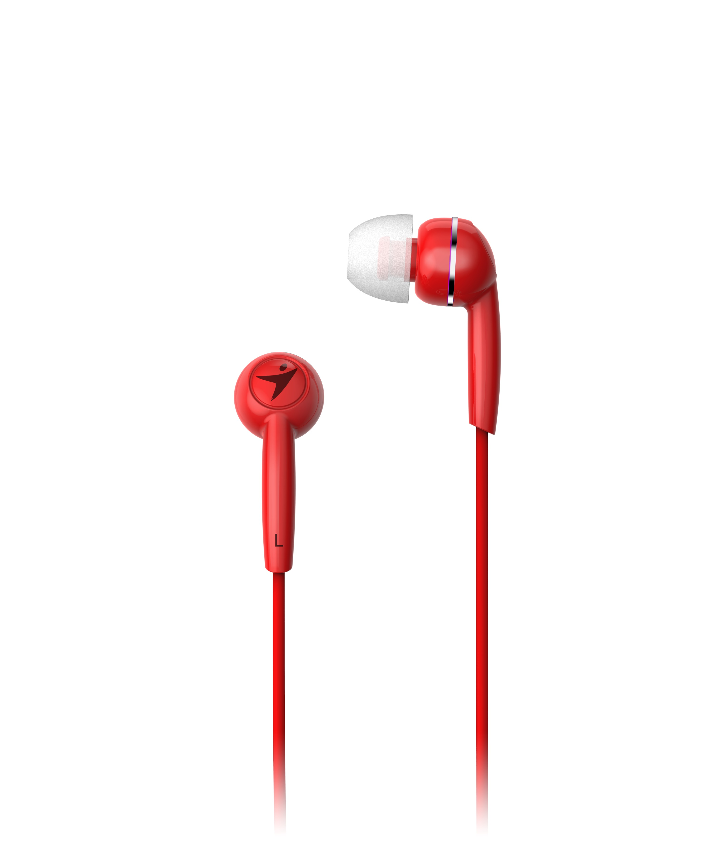 Sluchátka Genius HS-M320 mobile headset, red - 31710005415