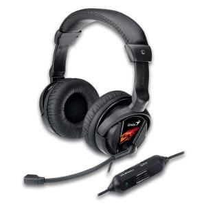 Sluchátka s mik. GENIUS HS-G500V gaming