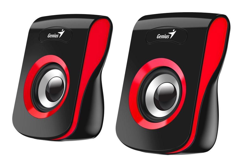 Speaker GENIUS SP-Q180, RED, USB, 6W - 31730026401