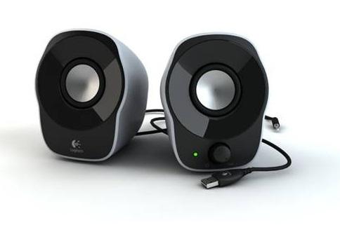 Logitech 2.0 Stereo Speakers Z120, 1.2W RMS, USB - 980-000513
