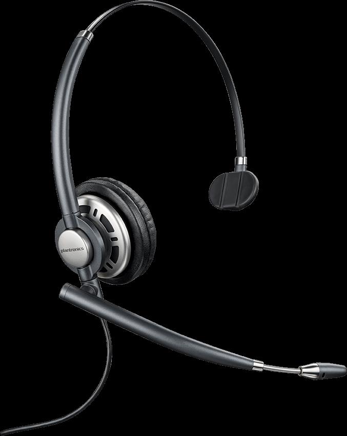 Plantronics EncorePro HW710, Monaural Headset, Noise-Cancelling
