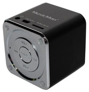 Technaxx Mini MusicMan, baterie 600 mAh, černý