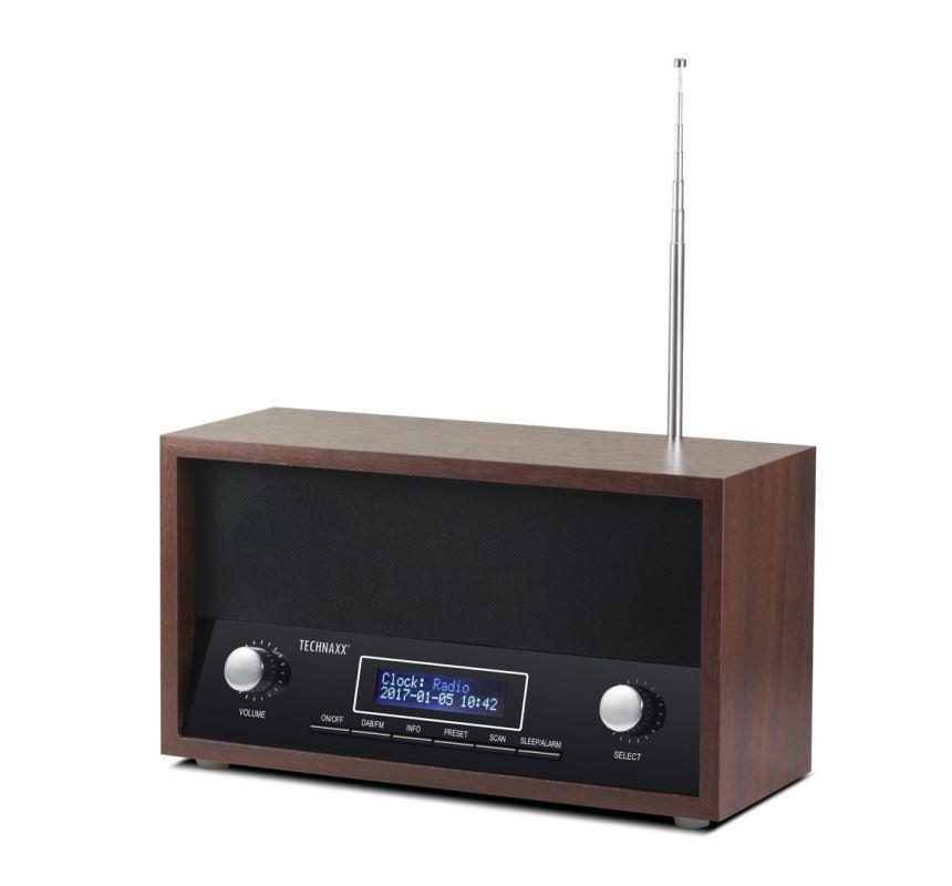 Technaxx Retro radiobudík, DAB+/FM TX-95