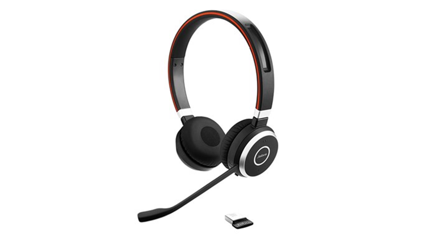 Jabra Evolve 65, Duo, USB-BT, MS, stojánek - 6599-823-399