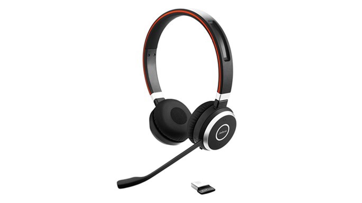 Jabra Evolve 65, Duo, USB-BT, stojánek