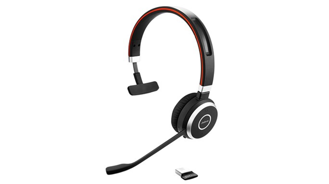 Jabra Evolve 65, Mono, USB-BT, stojánek