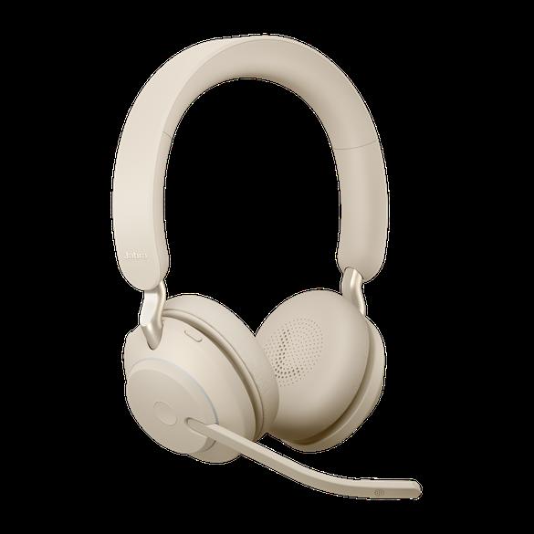 Jabra Evolve2 65, Link380a UC Stereo Beige