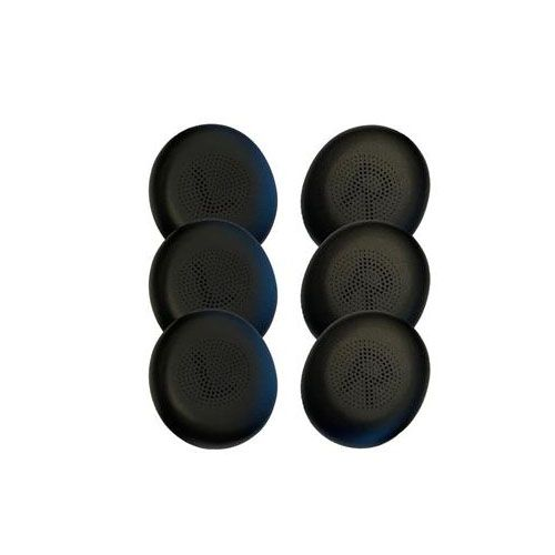Jabra Ear Cushions for Evolve2 40/65, 6pcs,Black