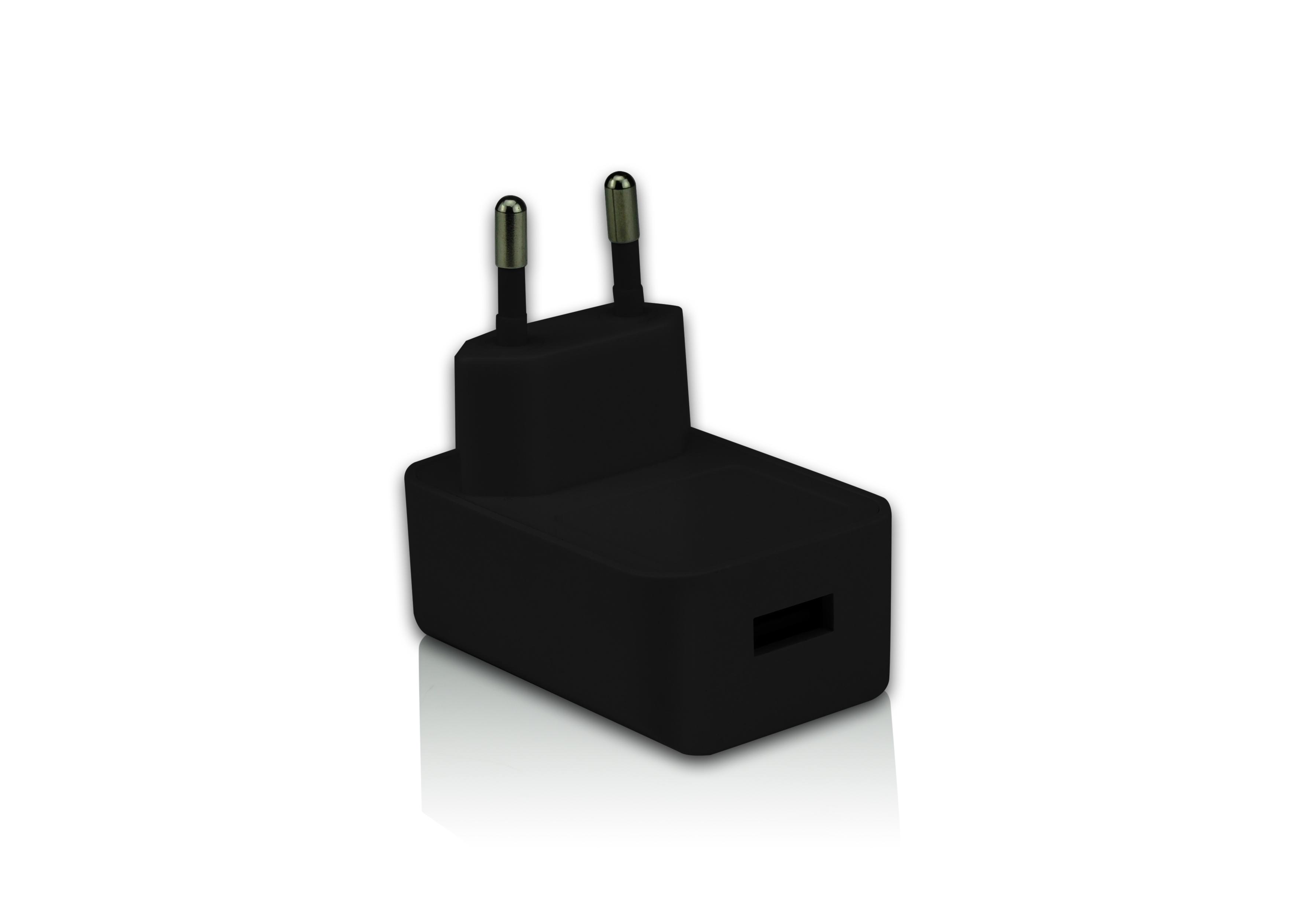 Gembird Nabíječka USB, 2100mA, černá