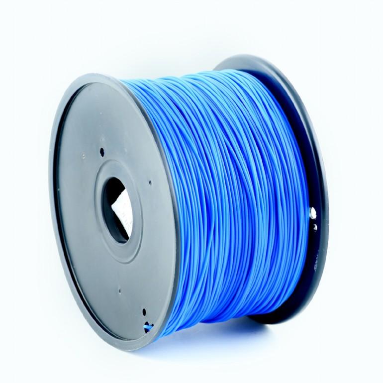 GEMBIRD Struna pro 3D tisk, PLA, 1,75mm, 1kg, 330m, modrá