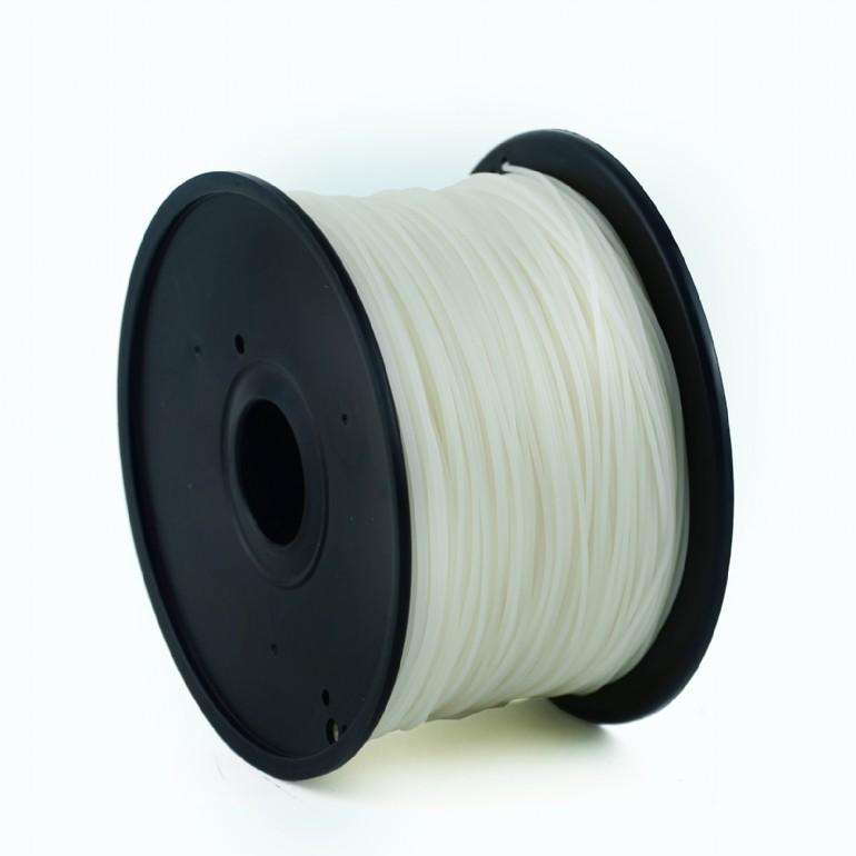 GEMBIRD Struna pro 3D tisk, PLA, 1,75mm, 1kg, 330m, natural