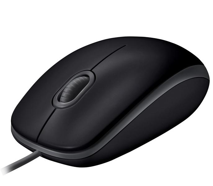 AKCE myš Logitech B110 Silent - BLACK - USB