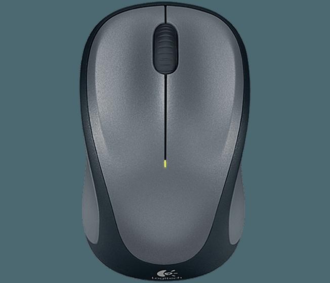 myš Logitech Wireless Mouse M235 nano, QuickSilver