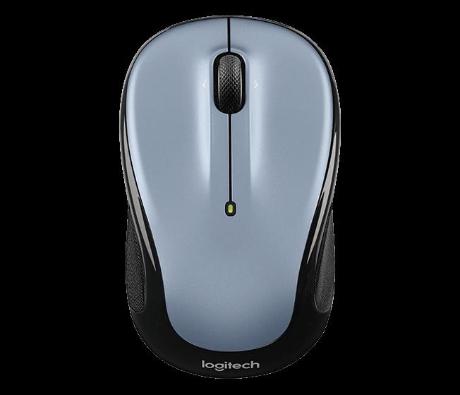 myš Logitech Wireless Mouse M325 nano, světle šedá