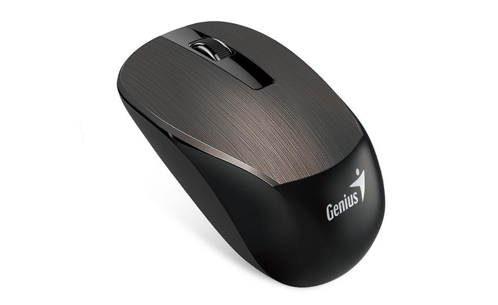 myš GENIUS NX-7015,USB Chocolate, Blue eye