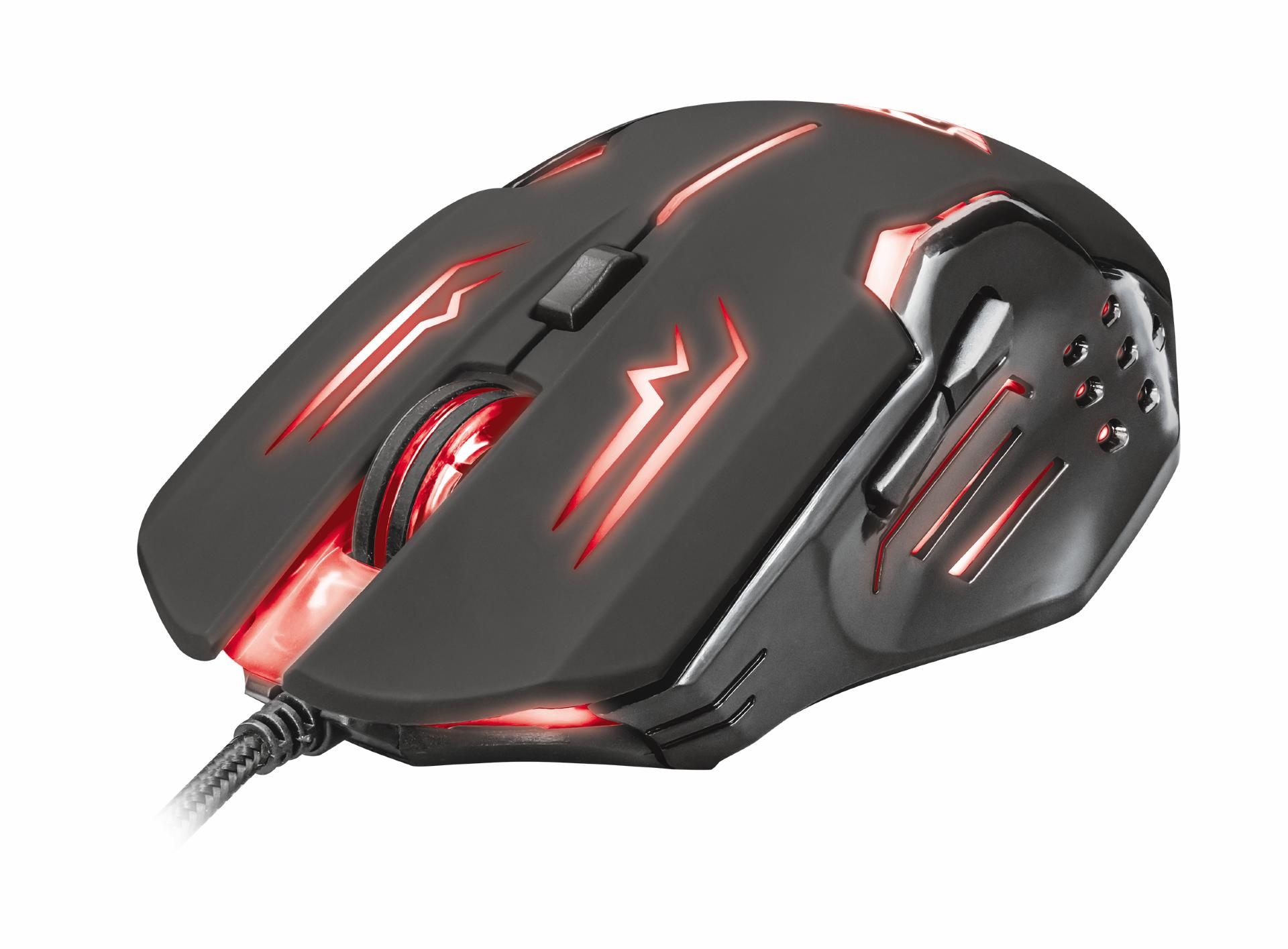 myš TRUST GXT 108 Rava Illuminated Gaming Mouse