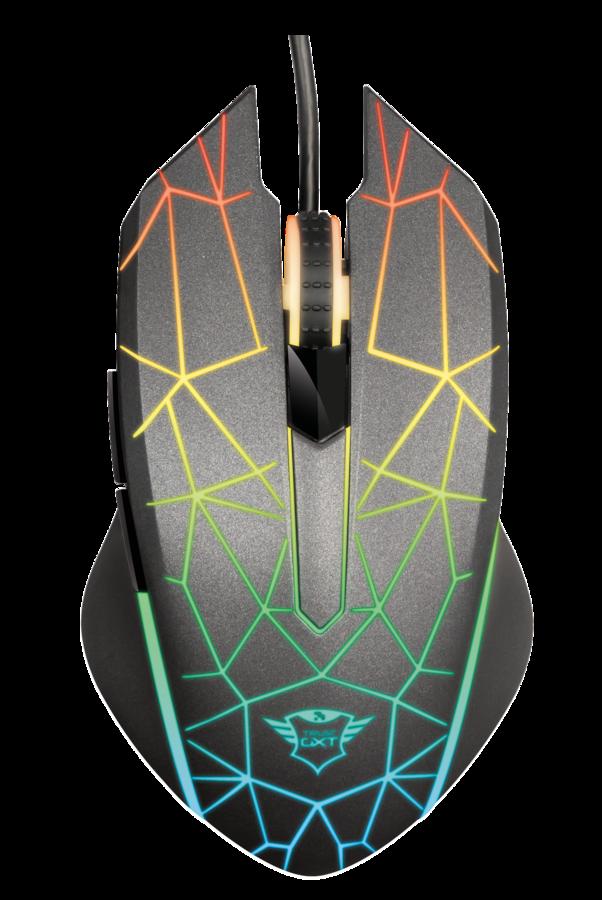 myš TRUST GXT 170 Heron RGB Mouse