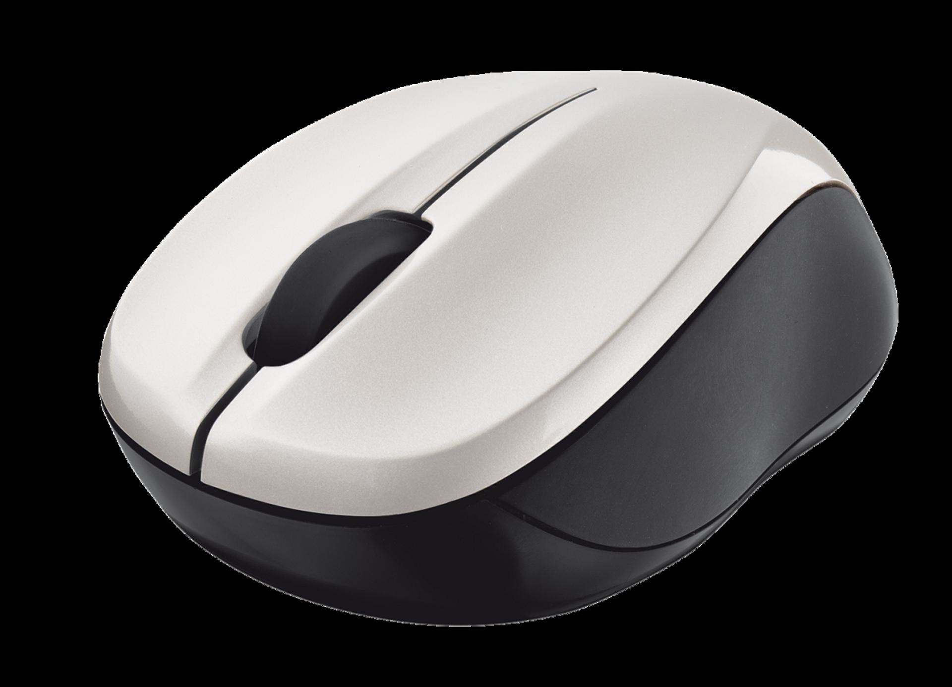 myš TRUST Vivy Wireless Mini Mouse - White