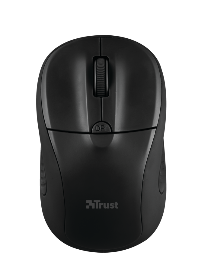 myš TRUST Primo Wireless Mouse - matte black